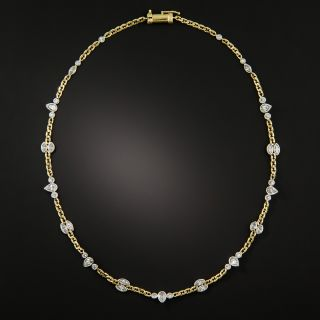 David Webb Fancy Diamond Chain