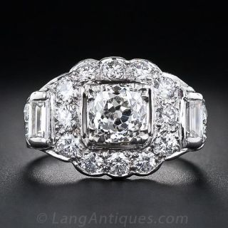.94 Carat Vintage Style Diamond Ring