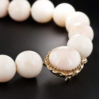 Angel Skin Coral Bead Necklace - 2