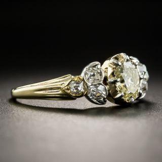 Antique .50 Carat Diamond Engagement Ring
