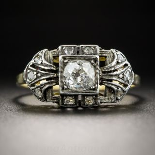 Antique .55 Carat Diamond Ring
