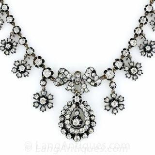 Antique Diamond Necklace - 1