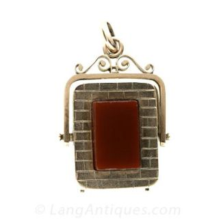 Antique-Double-Sided-Watch-Fob-Locket-Main-View