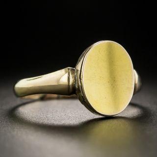 Antique English Signet Locket Ring