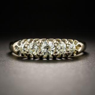 Antique Five-Stone Diamond Ring - 1