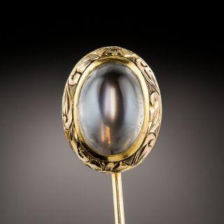 Antique Moonstone Stickpin