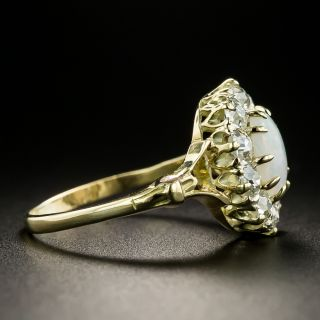 Late-Victorian Opal and Diamond Ring