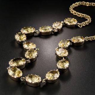Antique Precious Topaz Necklace - 2