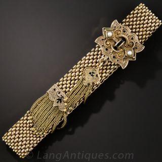 Antique Tassel Slide Bracelet - 2