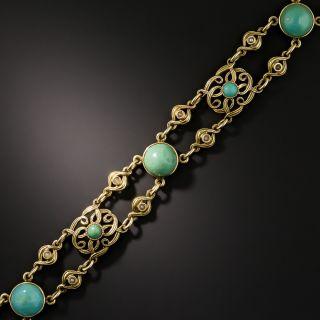 Antique Turquoise Bracelet  - 2