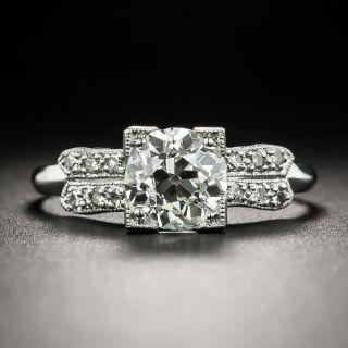 Art Deco 1.00 Carat Diamond Engagement Ring - GIA I VS2 - 2