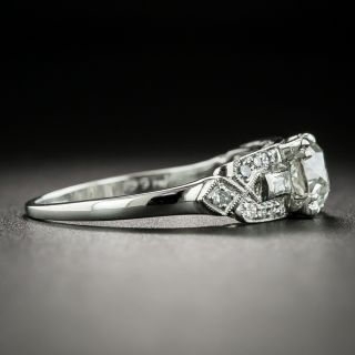 Art Deco 1.03 Carat Diamond Engagement Ring - GIA J VS2
