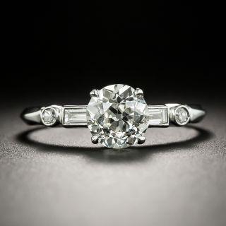 Art Deco 1.19 Carat Diamond Engagement Ring - GIA J VS2 - 2