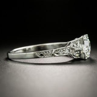 Art Deco 1.19 Carat Diamond Engagement Ring - GIA J VS1