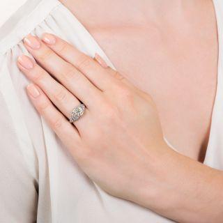 Art Deco 1.50 Carat Diamond Engagement Ring - GIA J VS2
