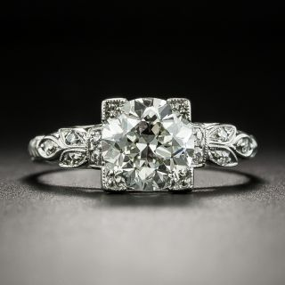 Art Deco 1.71 Carat Diamond Engagement Ring - GIA J VS2 - 2