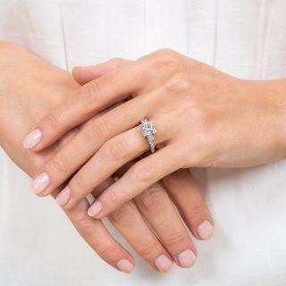 Art Deco 1.71 Carat Diamond Engagement Ring - GIA J VS2