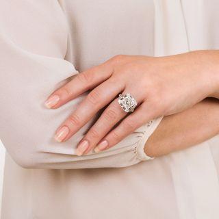 Art Deco 1.75 Carat Diamond Ring - GIA G VS1