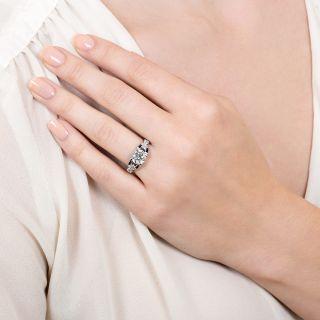 Art Deco 1.87 Carat Diamond Engagement Ring - GIA J SI2
