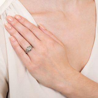 Art Deco .33 Carat Diamond Engagement Ring