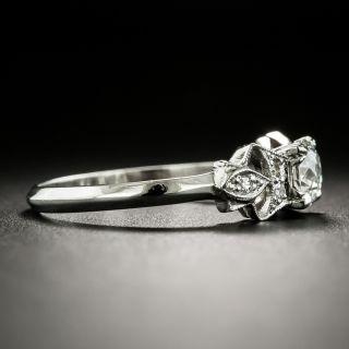 Art Deco .50 Carat Diamond Engagement Ring -  GIA G VVS 2