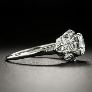 Art Deco .65 Carat Diamond Engagement Ring