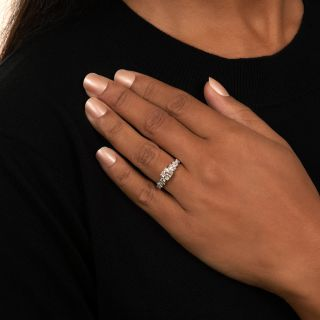 Art Deco .70 Carat Diamond Engagement Ring - GIA  G VVS 2