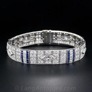 Art Deco Diamond Bracelet - 1