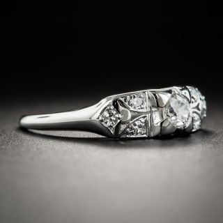 Art Deco Diamond Engagement Ring by Granat Brothers