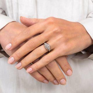 Art Deco .25 Carat Diamond Engagement Ring by Granat Brothers
