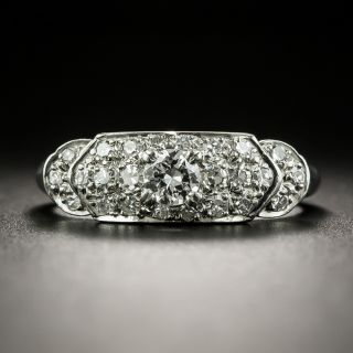 Art Deco .20 Carat Diamond Band Ring - 2