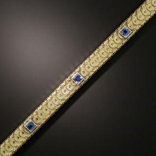 Art Deco Sapphire Bracelet By Sloan - 2