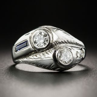 Art Deco Two-In-One Diamond Ring - 2