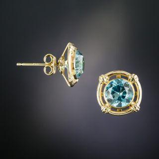 Art Deco Zircon Earrings