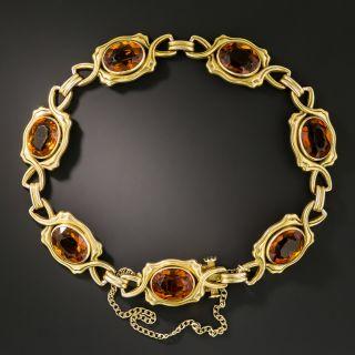 Art Nouveau Citrine Bracelet - 2