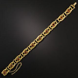 Art Nouveau Citrine Bracelet