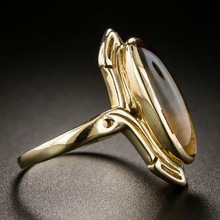 Art Nouveau Citrine Ring
