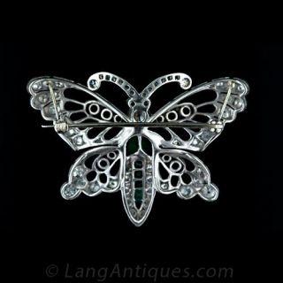 Bejewelled Butterfly Brooch