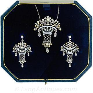 Belle Epoque Style Diamond