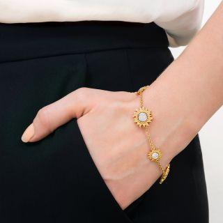 Carrera y Carrera Diamond 'Sol y Sombra' Necklace and Bracelet Suite