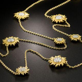 Carrera y Carrera Diamond Sol y Sombra Necklace - 8