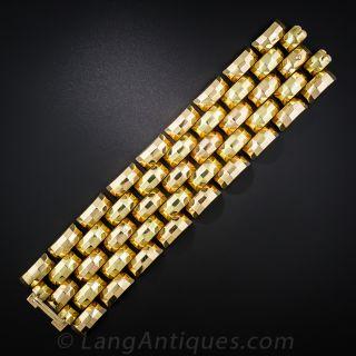Colossal 18K Retro Bracelet