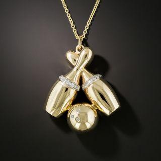 Diamond Bowling Pendant - 3