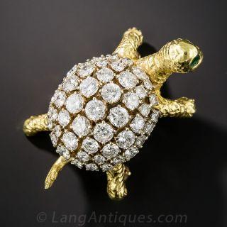 Diamond Turtle Pin - 1