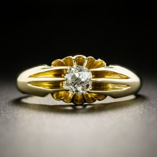 Early 20th Century .40 Carat Diamond Engagement Ring - 2