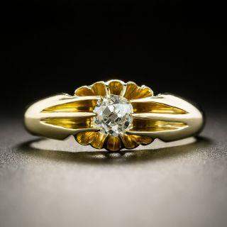 Early 20th Century .40 Carat Diamond Engagement Ring - 2