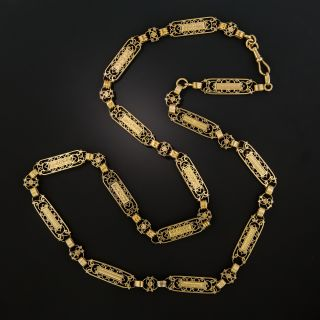 20th Century French Fancy Link Chain - 3