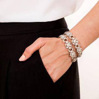 Early-Art Deco Bracelets and Choker Necklace