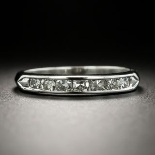 Early Mid-Century Diamond Wedding Band - 3