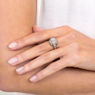 Edwardian 1.76 Carat Diamond Engagement Ring  - GIA L SI1
